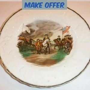 ⬇ Vintage Alfred Meakin England Collectible Plate
